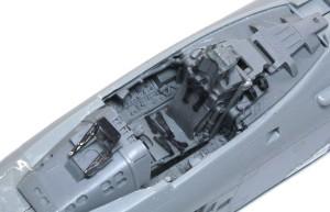 A-10Aサンダーボルト2 コクピットの組立て完了