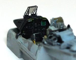 A-10Aサンダーボルト2 コクピットの塗装