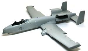 A-10Aサンダーボルト2 機体の組立て