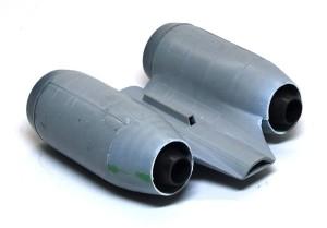 A-10Aサンダーボルト2 エンジンの組み込み