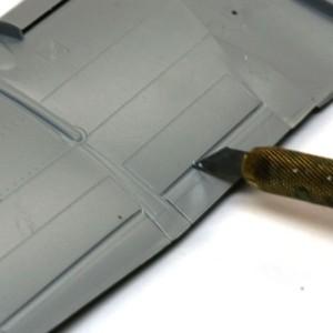 A-10Aサンダーボルト2 翼の整形