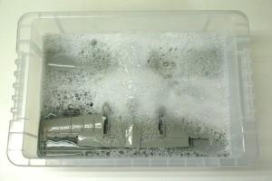 A-10Aサンダーボルト2 パーツの洗浄