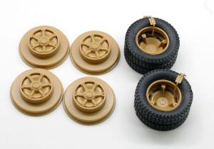 タイヤと車輪の組み立て