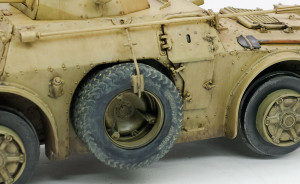 タイヤの土汚れ