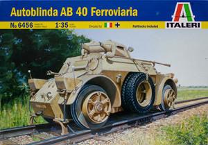 イタリア・AB40鉄道装甲車 1/35 イタレリ