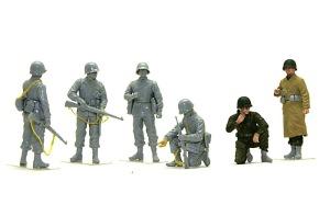 アメリカ歩兵・ラインへの進軍 組み立て完了