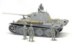 アメリカ歩兵・ラインへの進軍 パンターF型と組み合わせてみる