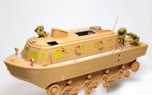 ドイツ戦車兵・アフリカ軍団 組立て完了