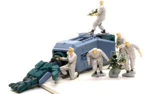 地球連邦軍・対MS特技兵セット 組み立て完了