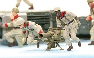 地球連邦軍・対MS特技兵セット リジーナの塗装