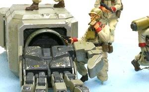 地球連邦軍・対MS特技兵セット ゼエブ・ゴールドマン少尉