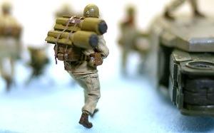 地球連邦軍・対MS特技兵セット アンソニー・ノット一等特技兵
