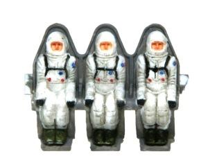 アポロ月着陸船 宇宙飛行士フィギュア