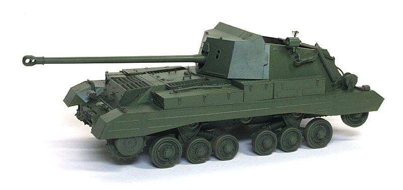 基本塗装 17ポンド自走砲アーチャー