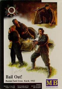 ソ連戦車兵・脱出シーン 1/35 マスターボックス