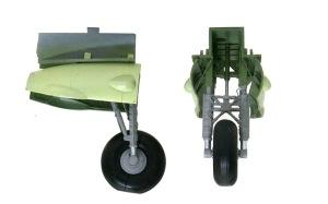 ボーファイターTF.Mk.10 主脚の塗装