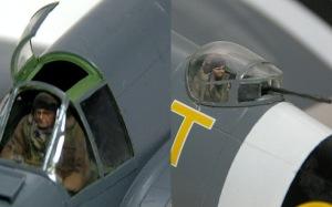 ボーファイターTF.Mk.10 キャノピーの取り付け