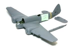 ボーファイターTF.Mk.10 機体の接着