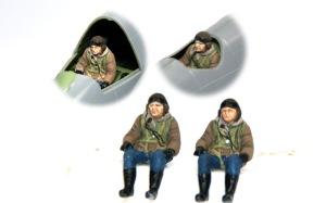 ボーファイターTF.Mk.10 フィギュアの塗装