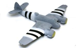 ボーファイターTF.Mk.10 黒帯の塗装