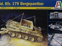 ドイツ・5号戦車回収車ベルゲパンター 1/35 イタレリ