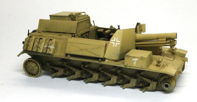 スミ入れ 2号15cm自走重歩兵砲バイソン2