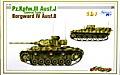 ドイツ・3号J型操縦戦車+ボルクバルド4B型