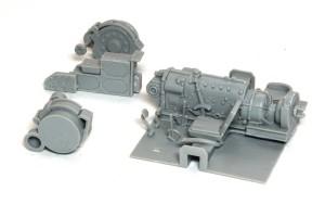 4号架橋戦車D型 インテリアパーツ
