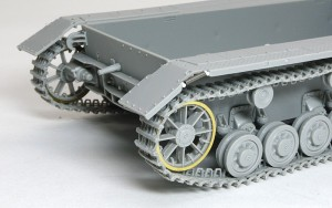 4号架橋戦車D型 後ろの跳ね上げようバネ