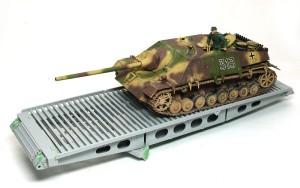 4号架橋戦車D型 橋梁の組立て