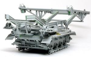 4号架橋戦車D型 橋脚の組立て