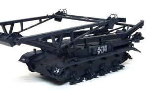 4号架橋戦車D型 デカール貼り