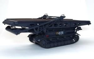 4号架橋戦車D型 細部の塗分け