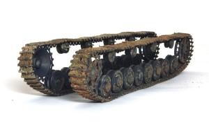 4号架橋戦車D型 履帯の汚し