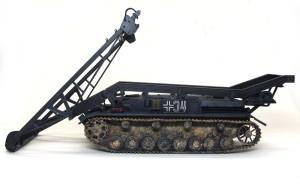 4号架橋戦車D型 足まわりの取り付け