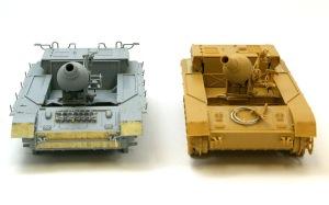トライスターの15cm榴弾砲は向きを変えることができる