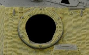 ブルムベア中期型 主砲の付け根