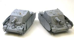 4号突撃戦車ブルムベア サフ吹き
