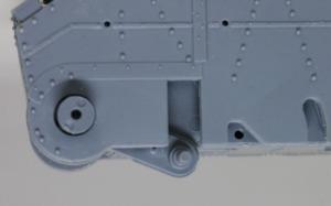 快速戦車BT-7 駆動力のある第4転輪