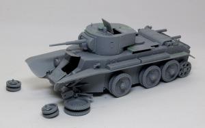 ソビエト・快速戦車BT-7 組立て完了
