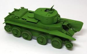 ソビエト・快速戦車BT-7 基本塗装