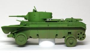 ソビエト・快速戦車BT-7 土埃