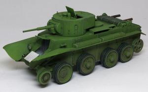 快速戦車BT-7 転輪の組立て