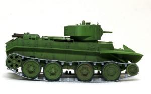 BT-7 足まわりの組立て