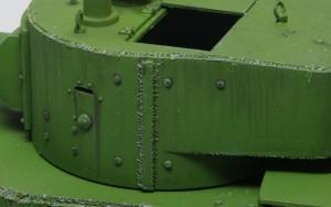 快速戦車BT-7 溶接痕も追加