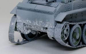 快速戦車BT-7 泥汚れ