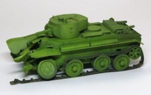 快速戦車BT-7 基本塗装