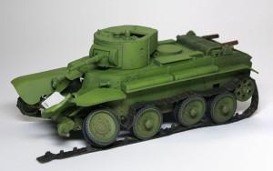 快速戦車BT-7 細部の塗分け