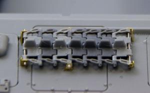 ブルムベア中期型 予備履帯の組み立て