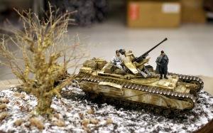 鹵獲したチャーチルにFlak37を乗せた自走砲
